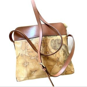 Geo classic Alviero Martini crossbody bag